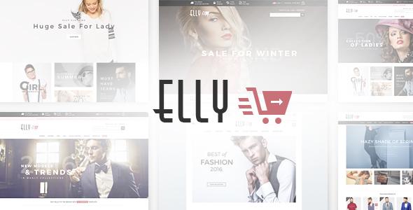 Elly - Multipurpose Responsive Opencart Theme