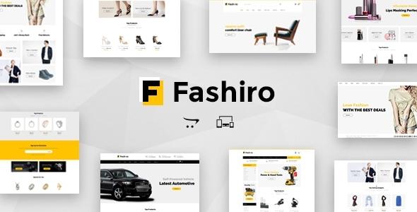 Fashiro - Multipurpose OpenCart Theme