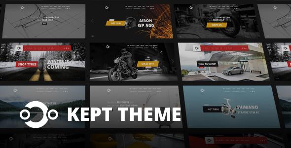 KEPT - Responsive OpenCart Theme