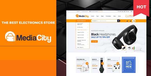 MediaCity - Technology Responsive Opencart Theme