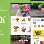 Organic Food & Flower Store Responsive OpenCart Theme – Organ