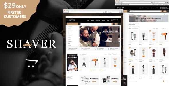 Shaver - Multipurpose OpenCart Theme