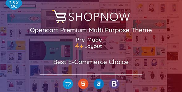 Shopnow Premium Multi Purpose Theme