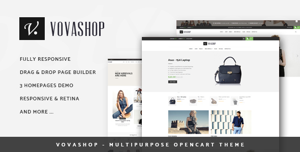 Vovashop - Multipurpose OpenCart Theme