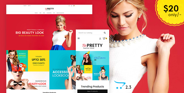 BePRETTY - Opencart Multi Purpose Responsive Theme