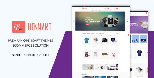 Benmart - Multipurpose OpenCart Theme