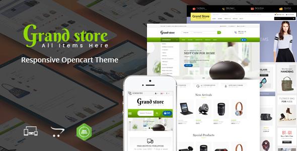 Grand Store - Multipurpose OpenCart Theme