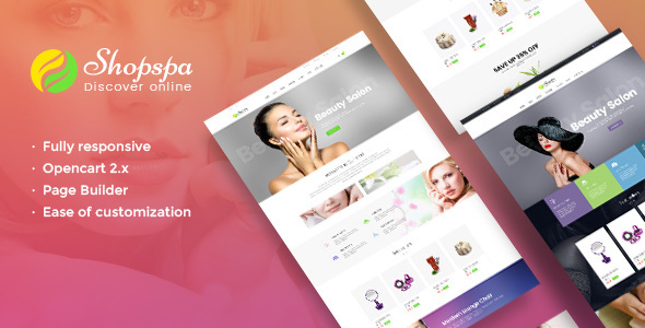 Pav Shopspa - Responsive Opencart theme for Spa & Beauty Salon