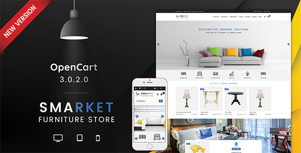 SMARKET 3.0.X Opencart Furniture Theme