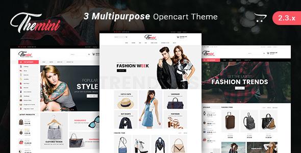 Themini - Multipurpose Responsive Fashion Opencart Theme