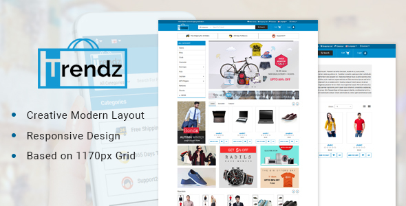 Trendz-Multipurpose Ecommerce Opencart Theme