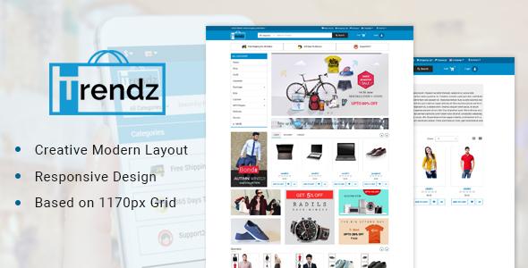 Trendz-Multipurpose Ecommerce Opencart Theme