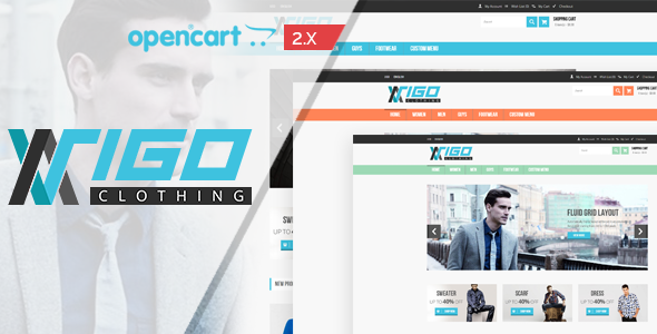 Vigon - Fashion Responsive OpenCart Theme