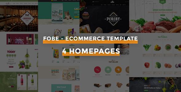 Fobe - Multipurpose Responsive Opencart Theme