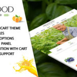 Opencart Template for Organic Food/Fruit/Vegetables – Fresh Food