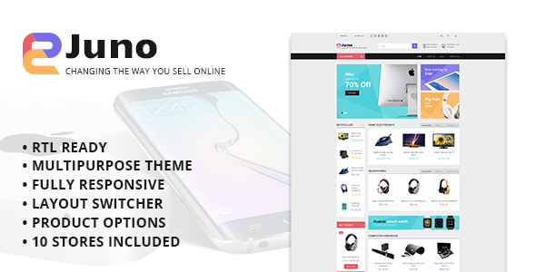Juno - Multipurpose Opencart Template