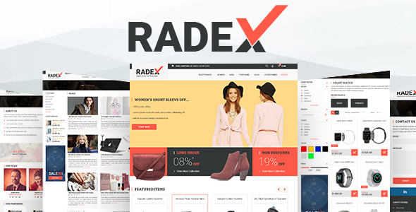 RADEX Multipupose Opencart Theme