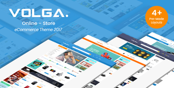 Volga - MegaShop Responsive Opencart 2.3 & 3.x Theme