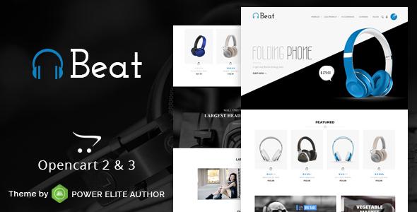Beat - Multipurpose OpenCart 3 & 2 Theme