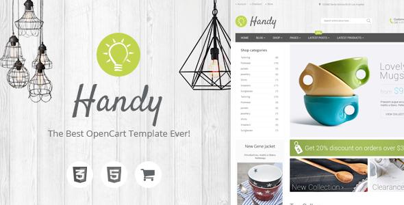 Handy - Premium OpenCart Theme