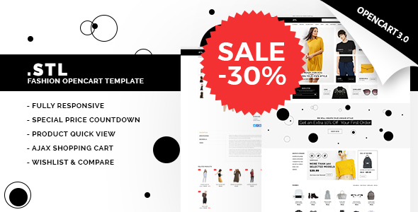 STL - Responsive Fashion Opencart Theme 3.0.2