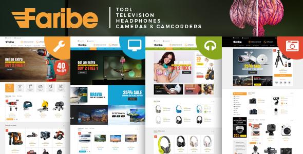 Faribe - Multi Purpose Opencart 3 Theme
