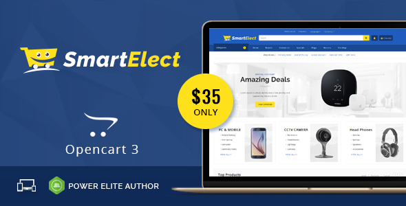 SmartElect - Multipurpose OpenCart 3 Theme