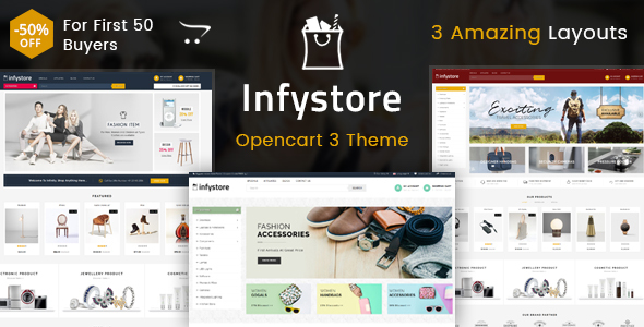 Infystore - Multipurpose OpenCart 3 Theme