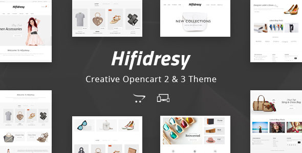 Hifidresy - Multipurpose OpenCart 2 & 3 Theme