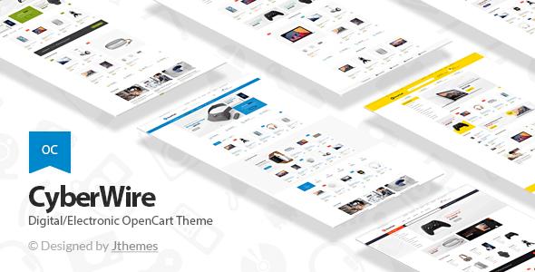 CyberWire - Premium OpenCart Theme