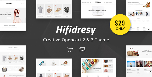 Hifidresy - Multipurpose OpenCart 2 & 3 Theme