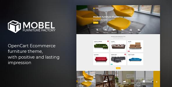 Mobel - OpenCart Furniture Theme