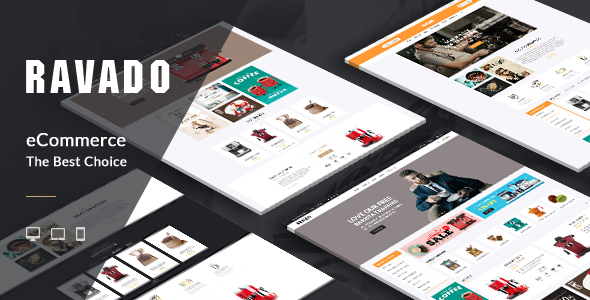 Ravado - Coffee Shop Opencart Theme