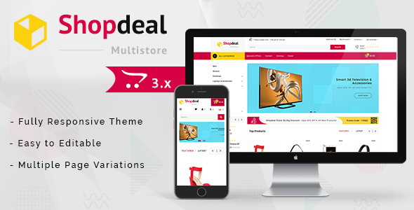 Shopdeal 3.0.X Opencart MultiPurpose Responsive Theme