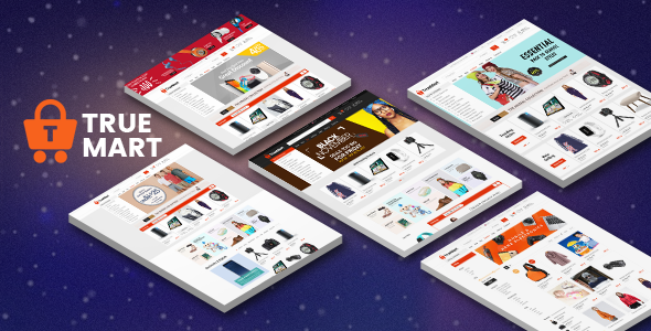 TrueMart - Mega Shop OpenCart Theme (Included Color Swatches)