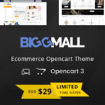 Multipurpose OpenCart 3 Theme – BiggMall