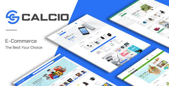 Calcio - Mega Store Responsive OpenCart Theme