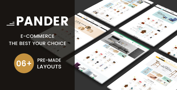 Pander - Furniture Responsive OpenCart Theme
