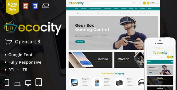 EcoCity - OpenCart Responsive Theme