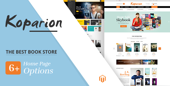 Koparion - Book Shop Responsive OpenCart Theme