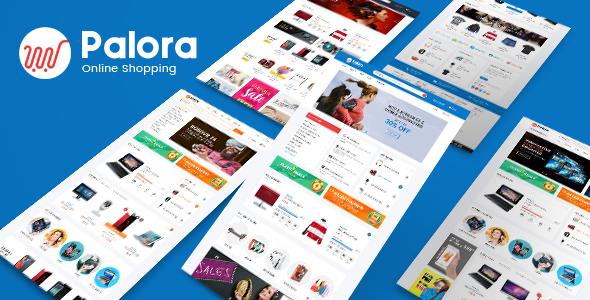 Palora - Responsive OpenCart Theme