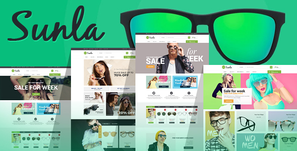 Sunla - Sunglasses Responsive Opencart Theme