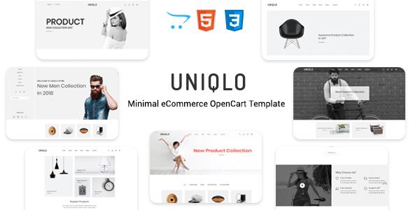 Uniqlo - Responsive Opencart Theme