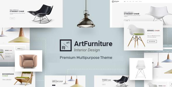 ArtFurniture - Responsive OpenCart Theme