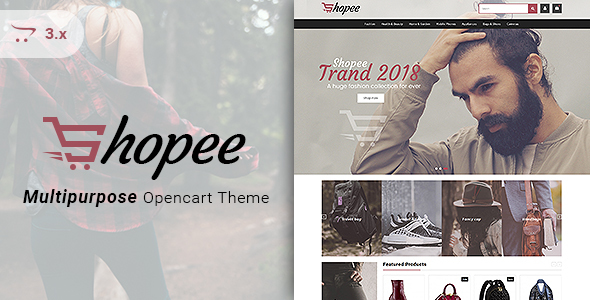 Shopee - Multipurpose Responsive Fashion Opencart 3 Theme