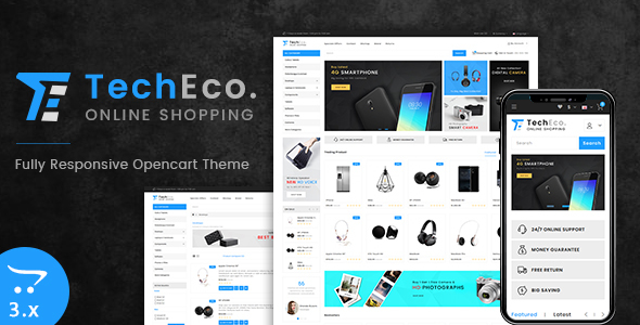 Techeco 3.0 Opencart MultiPurpose Responsive Theme