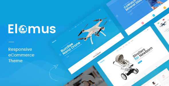 Elomus - Single Product OpenCart Theme