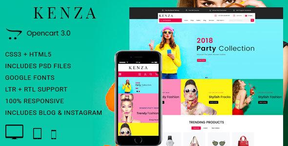 Kenza - Responsive Opencart 3 Theme