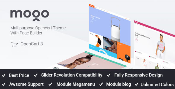 Mogo - fastest responsive fashion OpenCart theme