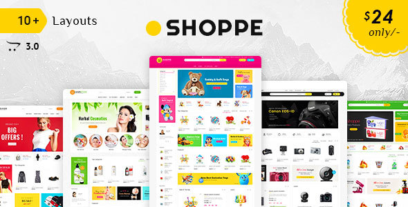 Shoppe - Opencart 3 Multi-Purpose Responsive Theme